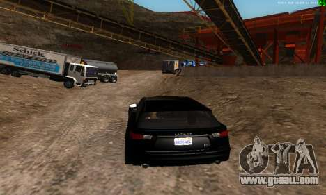 New transport routes for GTA San Andreas forth screenshot
