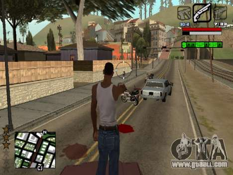 Nice C-HUD for GTA San Andreas