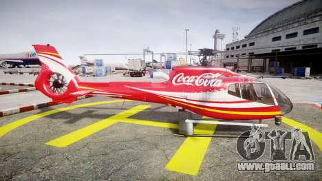 Eurocopter EC130 B4 Coca-Cola for GTA 4 left view