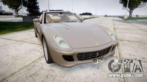 Ferrari 599 GTB 2006 Hamann for GTA 4