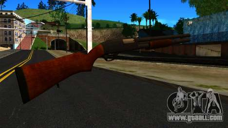Wooden MP-133 Silver for GTA San Andreas second screenshot