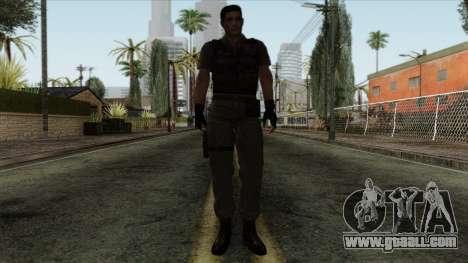 Resident Evil Skin 2 for GTA San Andreas