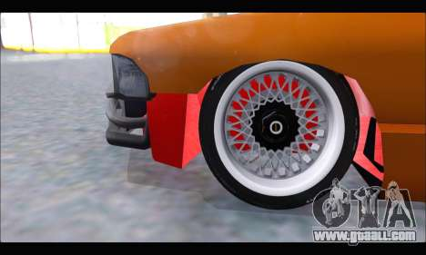 Taxi Extreme Tuning (Hellalfush) for GTA San Andreas inner view