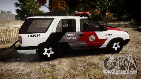 Chevrolet Blazer 2010 Tactical Force [ELS] for GTA 4 left view