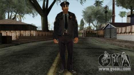 Police Skin 11 for GTA San Andreas