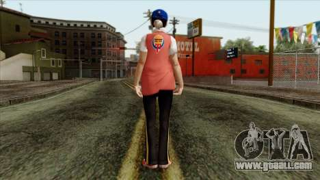 GTA 4 Skin 81 for GTA San Andreas second screenshot