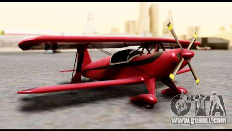 Beta Stuntplane for GTA San Andreas
