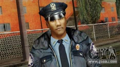 Police Skin 11 for GTA San Andreas third screenshot