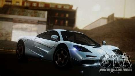 McLaren F1 Autovista for GTA San Andreas