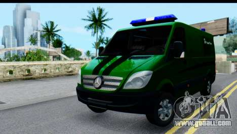 Mercedes-Benz Sprinter PrivatBank for GTA San Andreas