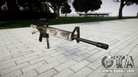 The M16A2 rifle [optical] yukon for GTA 4