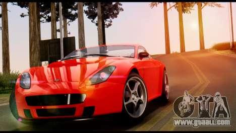 GTA 5 Dewbauchee Rapid GT Coupe [IVF] for GTA San Andreas