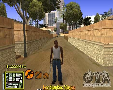 C-HUD Vagos Gang for GTA San Andreas third screenshot