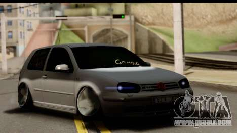 Volkswagen Golf 4 Tuning for GTA San Andreas