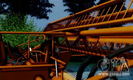 FMZ BIZON Super Z056 1985 Orange for GTA San Andreas right view