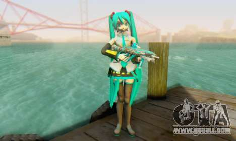 Hatsune Miku Dreamy Theater for GTA San Andreas second screenshot