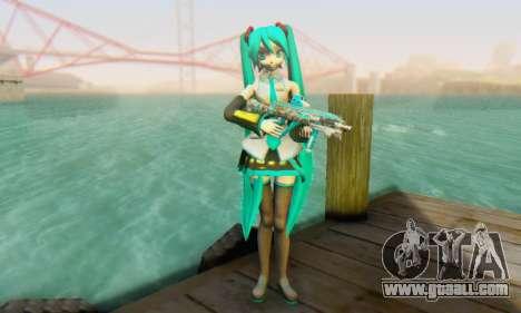 Hatsune Miku Dreamy Theater for GTA San Andreas second screenshot