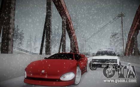 Winter ENBSeries for GTA San Andreas forth screenshot