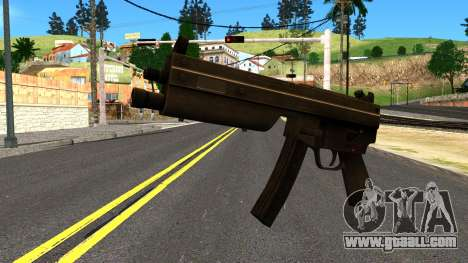MP5 from GTA 4 for GTA San Andreas