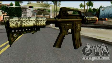 Kill Em All M4 for GTA San Andreas second screenshot