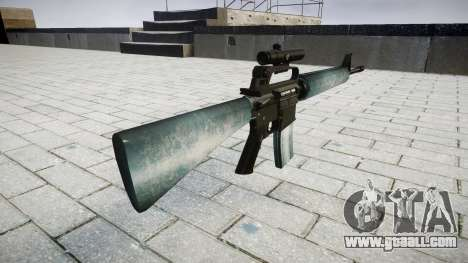 The M16A2 rifle [optical] icy for GTA 4 second screenshot