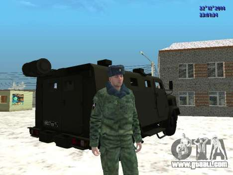 MIC-3924 Armored Bear for GTA San Andreas right view