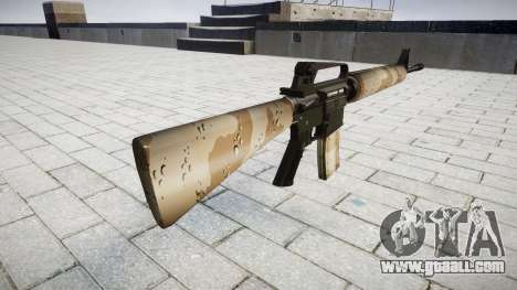 The M16A2 rifle nevada for GTA 4 second screenshot