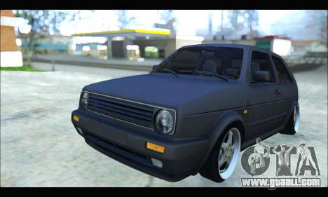 VW Golf MK2 for GTA San Andreas