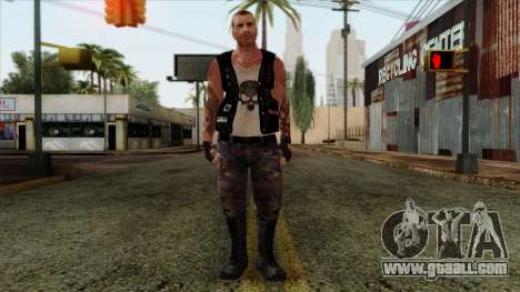 GTA 4 Skin 56 for GTA San Andreas