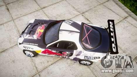 Mazda RX-7 Rocket Bunny MadMake for GTA 4 right view