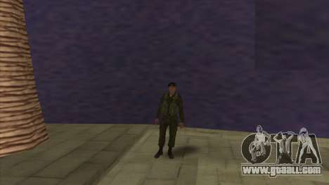 The marine Corps of the armed forces for GTA San Andreas forth screenshot