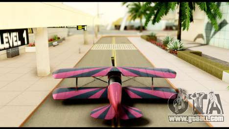 Beta Stuntplane for GTA San Andreas inner view