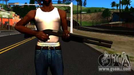 Black MP-133 Without Gloss for GTA San Andreas third screenshot