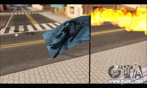 Flag Spiderman Noir for GTA San Andreas third screenshot