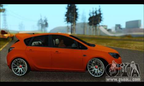 Opel Astra J for GTA San Andreas back left view