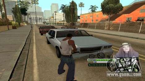 C-HUD Obey for GTA San Andreas third screenshot