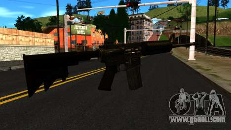 M4 from GTA 4 for GTA San Andreas second screenshot