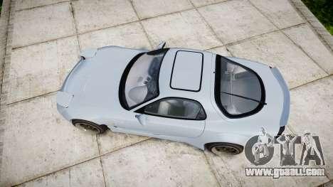 Mazda RX-7 RocketBunny for GTA 4 right view