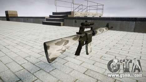 The M16A2 rifle [optical] yukon for GTA 4 second screenshot