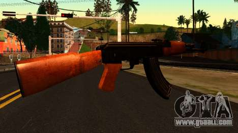 AK47 from Chernobyl 3: Underground for GTA San Andreas second screenshot