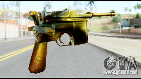 Mauser from Metal Gear Solid for GTA San Andreas second screenshot