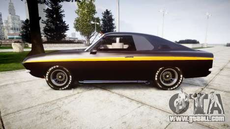 Opel Manta A Black Magic for GTA 4 left view