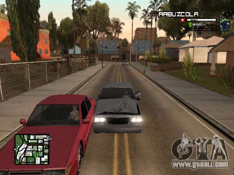 CLEO HUD by SampHack v.20 for GTA San Andreas