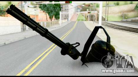Raven Vulcan Gun from Metal Gear Solid for GTA San Andreas
