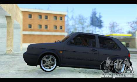 VW Golf MK2 for GTA San Andreas left view