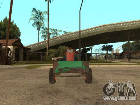 Batmobile for GTA San Andreas left view