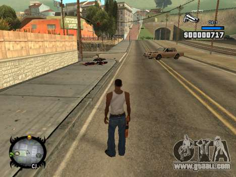 HUD by LMOKO for GTA San Andreas