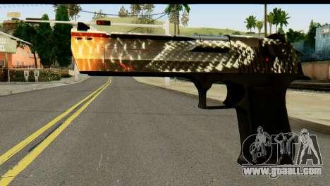 Kill Em All Desert Eagle for GTA San Andreas
