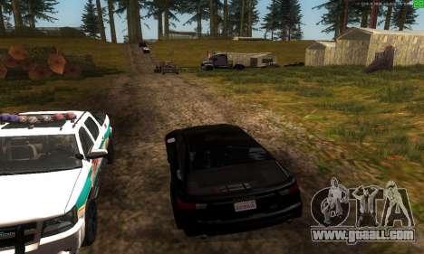 New transport routes for GTA San Andreas sixth screenshot