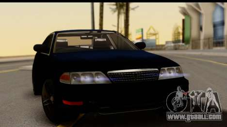 Toyota Mark 2 100 for GTA San Andreas right view